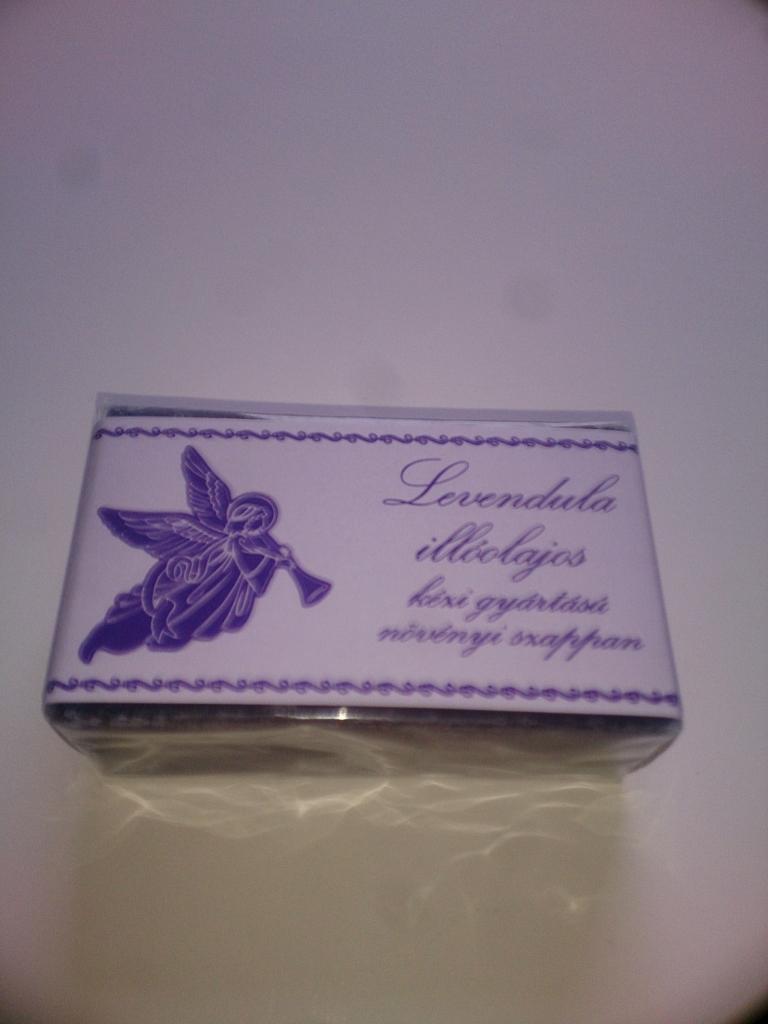Levendula angyalkás szappan